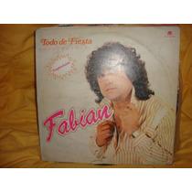 Vinilo Fabian Todo De Fiesta Enganchados P2