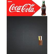 Pizarron Pizarra De Chapa Coca Cola Bar Resto 40x60cm