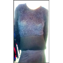 Sweater Piel De Mono Con Elastico En La Cintura Vs Colores