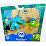 Monsters Inc X2. Sulley Con Mike -jugueteria Minijuegos!