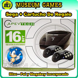 Consola Sega T/genesis 3 + 2 Joysticks + Juego - Local-