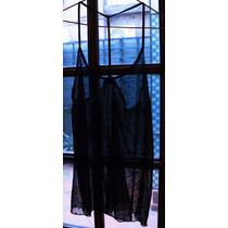 Blusa Translúcida Negra Para Salir - Agarrate Catalina