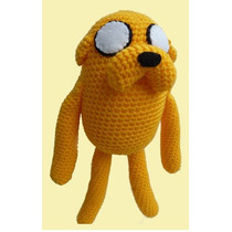 Adventure Time Hora Aventura - Jake - Finn Peluches! Crochet