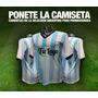 Camisetas Seleccion Argentina P/promociones X Mayor