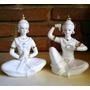 Par De Diosas Hindues - Figuras De Porcelana China