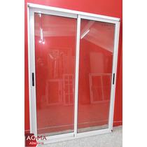Aberturas Ventana Modena Aluminio Vidrio Entero 2 X 2 Agma