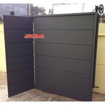 Portón Levadizo Manual Garage Robusto Chapa Pesada Reforzada