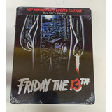 Blu Ray Friday 13 Martes 40 Anniversary Steelbook