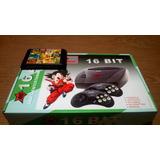 Consola Sega Nippongame + Cartucho De 109 Juegos Sin Repetir