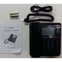 Telefono Fijo Negro Domo Sms Display Nuevos En Caja