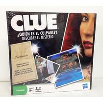 Clue Quién Es El Culpable? Version Reducida Juego Misterio