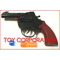 Pistola Juguete Tambor Ocho Disparos Cebita No Incluida Toy