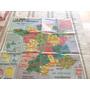 Mapa De Francia Fisico Y Politico Espectacular