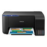 Impresora A Color Multifunción Epson Ecotank L3110 110v/220v Negra