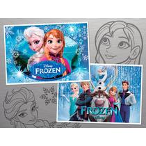 Rompecabezas Imantados Frozen, Zou Y Henry Monstruito!
