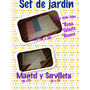 Set Jardin Sublimable Sublimar