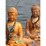 Buda Pintado A Mano Para Meditación