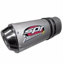Escape Silenciador Spr Aluminium 4 Honda Wave Urquiza Motos