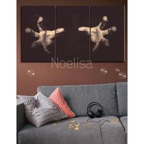 Cuadros Tripticos Arte Abstracto, Arte Diseño Digital, Cine