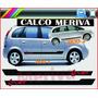 Calco Chevrolet Meriva Lateral
