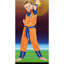 Disfraz Goku Dragon Ball Z Original Licencia Varios Talles