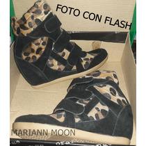 Zapatillas C/plataf Escondida Sneakers Nª35 - Mariann Moon