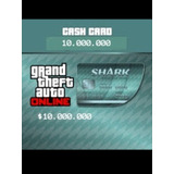 Tarjeta Tiburón 10millones + Rp + 500.000 De Regalo Gtav Ps4