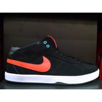 Botitas Nike Mavrk Mid Skate Board Bmx Terciopelo Urbanas
