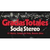 Entradas Soda Stereo 21/03 Campo De Polo Campo