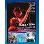 Dvd Argentina Viaje Musical. Turismo, Música,glaciar Perito
