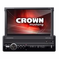 Stereo Auto Multimedia Pantalla Motorizada 7p Bluet. Usb Aux
