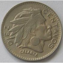 Republica De Colombia 10 Centavos 1964 Casi Sin Circular!