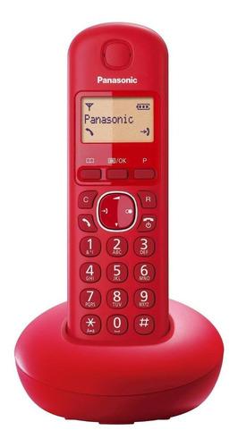 Teléfono Inalámbrico Panasonic Kx-tgb210 Rojo