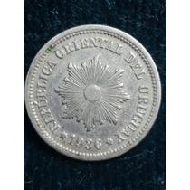 Moneda Uruguay 1936 / 2 Cent/ Ref P5-20