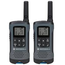 Walkie Talkie Handy Radio Motorola T200 Kit X 2  H/32 Km.