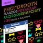 Promo Marco Facebook / Instagram Photo Booth + 20 Accesorios