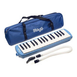 Flauta Melodica Stagg De 32 Teclas Con Estuche Original Y Boquilla Tubo Flexible Portatil Ideal Para Estudio En Cuotas