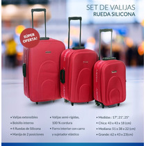 Set De 3 Valijas Temporada 2016 Ideal Viaje De Egresados