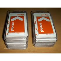 Chip Nextel Prepagos Activos En Blister Linea Celular Radio