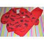 Pijama Naranjo Moto Nene Talles 2 A 10 Años Little Treasure