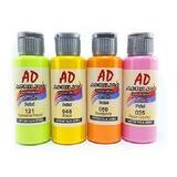 Set Acrílicos Ad 60 Ml X 12 Unidades Pintura Acrílica Envíos