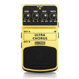 Pedal De Efecto Behringer Uc200 Ultra Chorus Stereo Guitarra