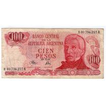 Barese2013 Bottero 2391a Reposicion 100 Pesos Ley