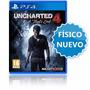 Uncharted 4 Ps4 El Desenlace Del Ladrón Playstation 4 Local
