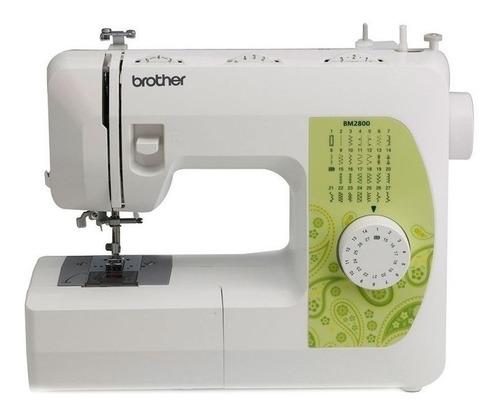 Máquina De Coser Brother Bm2800 Blanca 220v