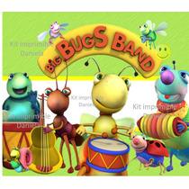 Kit Imprimible Big Bus Band Baby Tv Candy Bar