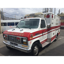 Ford E350 Econoline 7.3 L Diésel Ambulancia De Rescate