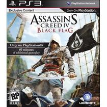 Assassin´s Creed 4 Black Flag Ps3 Nuevo Sellado Original
