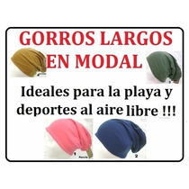 Gorras / Gorros Beanis / Bandanas / Modal Elastano /beckam