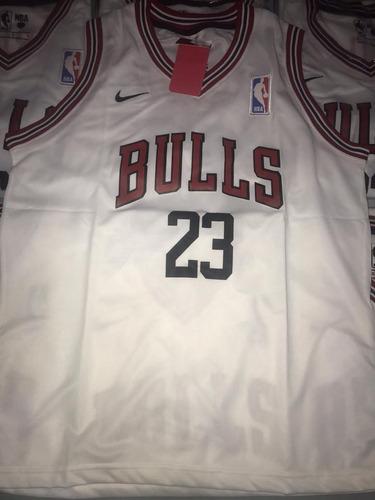 Musculosa Basket Nba Chicago Bulls Blanca 23 Jordan ab03b0dc7fe